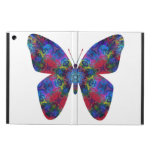Blue and Red Mandala Fantasy Butterfly iPad Air Case