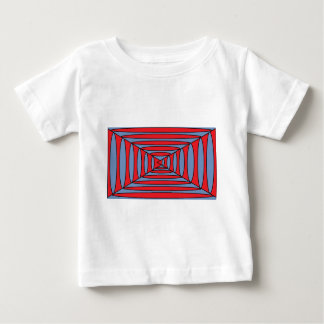 Blue and red ovals baby T-Shirt