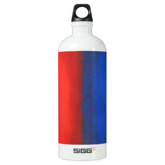 Blue and Red Pastel Conversation SIGG Traveler 1.0L Water Bottle