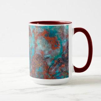 Blue And Red Shattuckite Mug