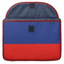 Blue and Red-Striped Sleeve For MacBook Pro