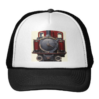 Blue And Red Train Trucker Hat