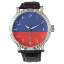 Blue and Red Watches
