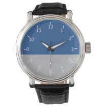 Blue and Silver Force Wrist Watch