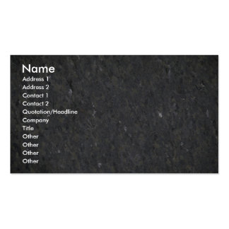 Blue and silver specked granite business card