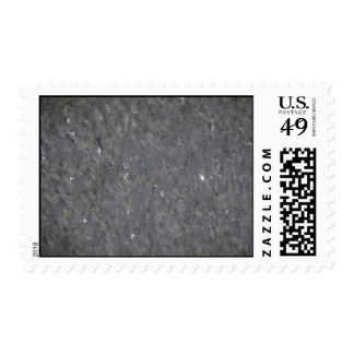 Blue and silver specked granite postage