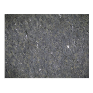 Blue and silver specked granite postcard