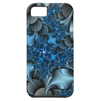 blue and silver thorns iPhone SE/5/5s case