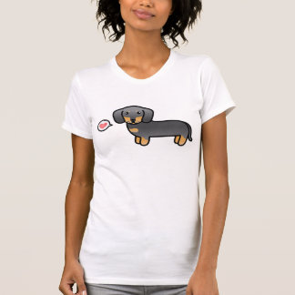 Blue And Tan Smooth Coat Dachshund Love T-shirt