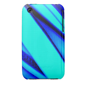Blue and Teal iPhone3 Case