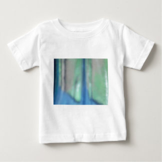 Blue and teal green sea glass baby T-Shirt