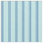 [ Thumbnail: Blue and Turquoise Lines Pattern Fabric ]