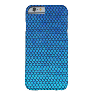Blue and turquoise mermaid scales phone case barely there iPhone 6 case