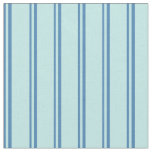 [ Thumbnail: Blue and Turquoise Striped/Lined Pattern Fabric ]