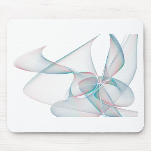 Blue and violet abstract petals mousepads