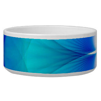 Blue and White Abstract Bowl
