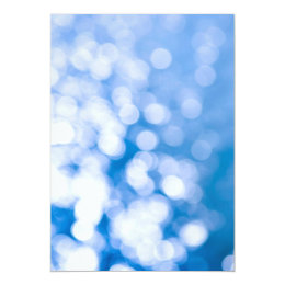 Blue and white background card