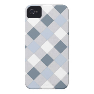 Blue and White Diamonds iPhone Case Case-Mate iPhone 4 Cases