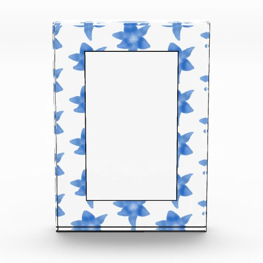 Blue and White Floral Pattern. Awards