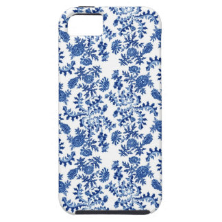 Blue and White Floral Phone Case