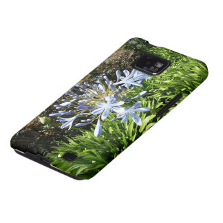Blue And White Flowers Galaxy S2 Covers