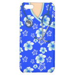 Blue And White Flowers Turtles Medical Scrubs Case For iPhone 5C