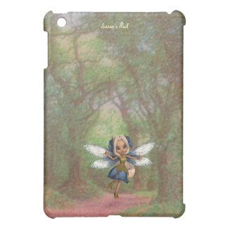 Blue and White Fun Fairy iPad Mini Case