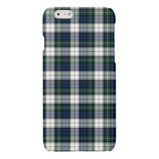 Blue and White Gordon Clan Formal Dress Tartan Glossy iPhone 6 Case
