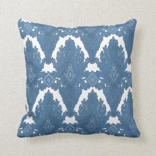 Navy Blue Geometric Pattern Pillows Decorative Amp Throw