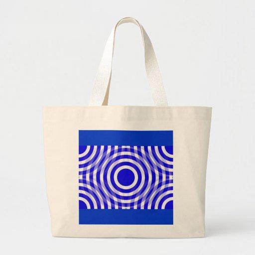 blue_and_white_interlocking_concentric_circles bolsas