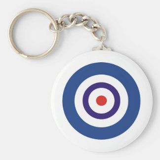 BLUE AND WHITE KEYCHAIN