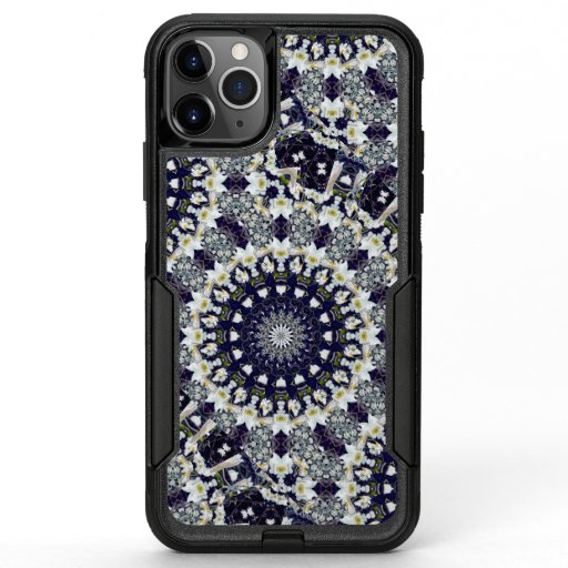 Blue and White Mandala OtterBox Phone Case