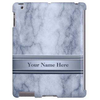Blue and White Marble