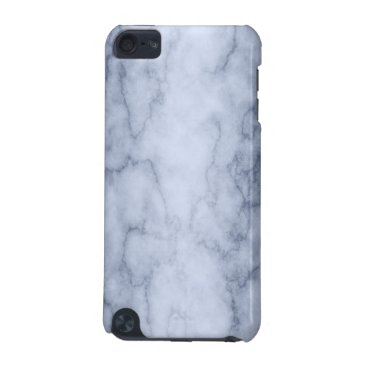 linda_mn Blue and White Marble iPod Touch (5th Generation) Cover