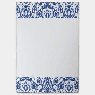 Blue and White Moroccan Casbah Damask Post-it® Notes