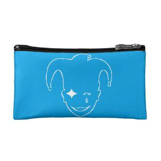 Blue And White MTJ Makeup Bag