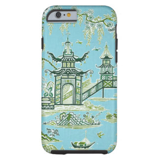 Blue and white oriental design iphone6 case