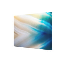 Blue and White Pattern Canvas Print
