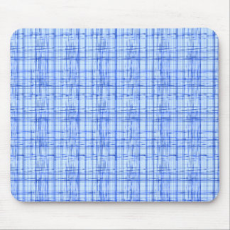 blue and white plaid patternblue and white plaid p mouse pad