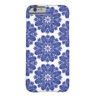 Blue and White Porcelain Baroque Phone Case