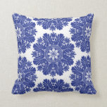 Blue and White Porcelain Baroque Pillows