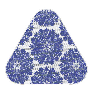 Blue and White Porcelain Baroque Pillows Bluetooth Speaker