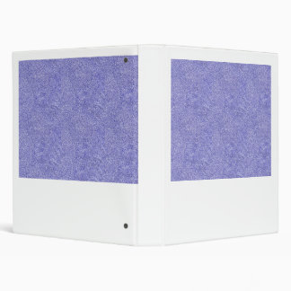 Blue and white security type background image vinyl binder