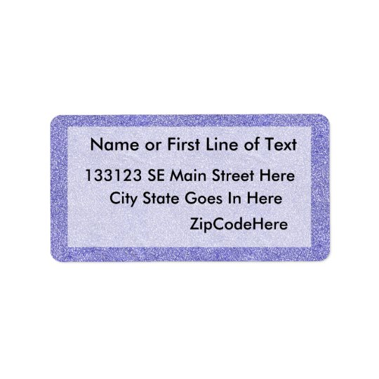 Blue and white security type background image label
