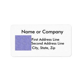 Blue and white security type background image personalized address labels