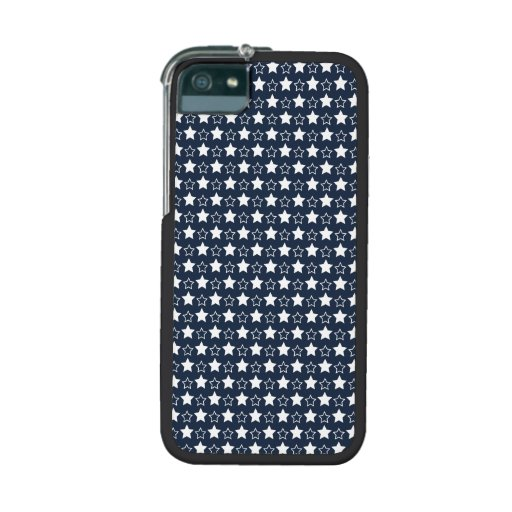 Blue And White Stars iPhone 5 5S CoversIphone 5s Blue And White