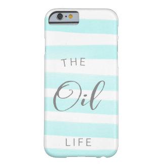 Blue and White Stripe Essential Oil Case