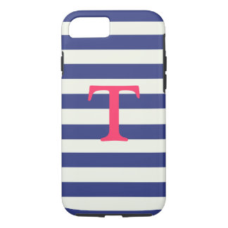 Blue and White Striped iPhone 7 case