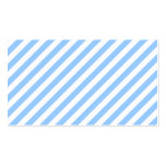 Blue and White Stripes. Business Card