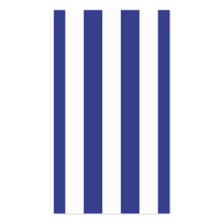 Blue and White Stripes Business Card Template